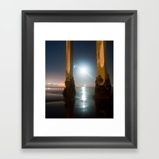 Amphitrite by Moonlight Framed Art Print
