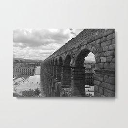 Segovia, Spain - Aqueduct Metal Print