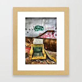 Urban decay Framed Art Print