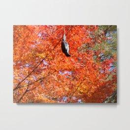 Arashiyama Kouyou Metal Print
