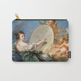 Allegory of Painting - Francois Boucher Carry-All Pouch