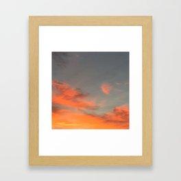 Fireskies Framed Art Print