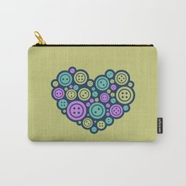 Heart of a Tailor Carry-All Pouch