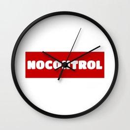 NoControl Wall Clock