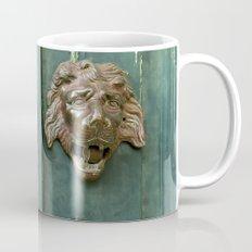 Lion heads of precious metal Mug