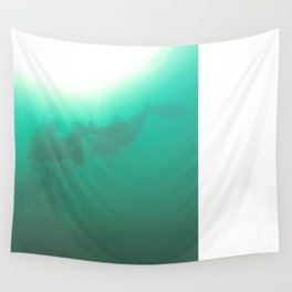 Diving on Taiwan Wall Tapestry