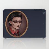 crowley iPad Cases featuring Crowley by Abbi Laura