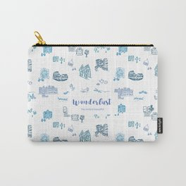 Wanderlust in Europe Carry-All Pouch