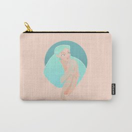 Tattooed sexy chick Carry-All Pouch