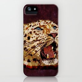 Abstract  gepard iPhone Case