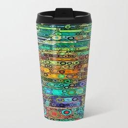 :: Technicolor Walkway :: Metal Travel Mug