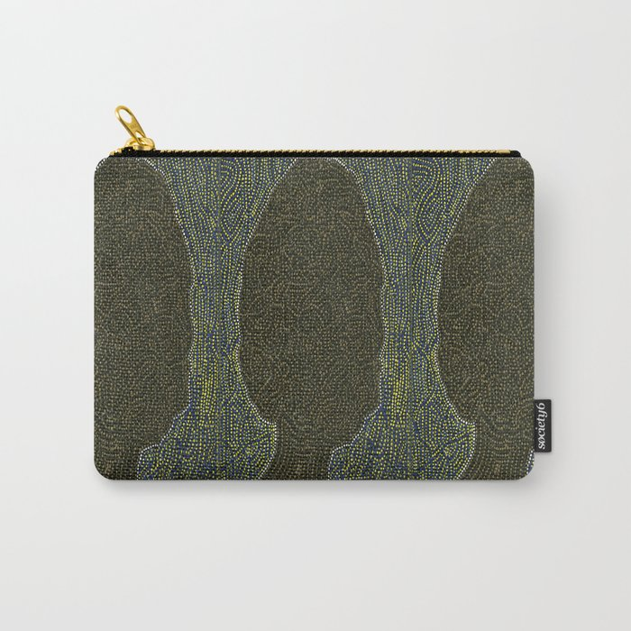 Morel Mushroom Carry-All Pouch