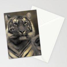 Golden Tiger 4 Stationery Cards