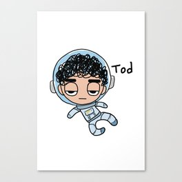Space Tod Canvas Print