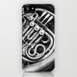 French Horn iPhone Case