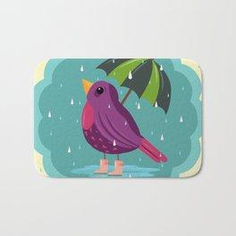 Rainy Days Are Still Good Days Bath Mat