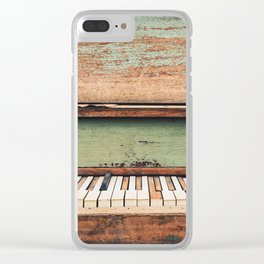 The Dead Keys Clear iPhone Case