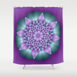 joy and energy -12- Shower Curtain