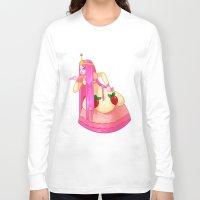 princess bubblegum Long Sleeve T-shirts featuring Princess Bubblegum by Parapoozle