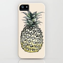 Pineapple Meaw iPhone Case