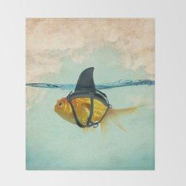 Brilliant Disguise Goldfish Throw Blanket