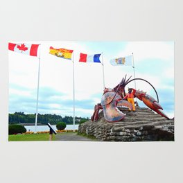Shediac Lobster Rug