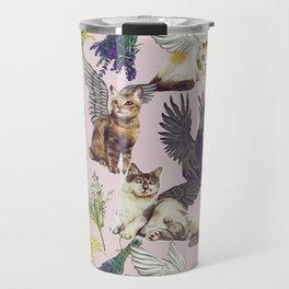 Cat Cherubs Travel Mug
