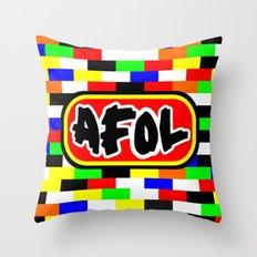 AFOL Throw Pillow
