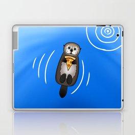 Sea Otter with Pizza Laptop & iPad Skin