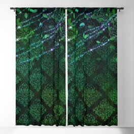 Green Envy Blackout Curtain