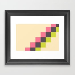 Stairs of Squares Framed Art Print