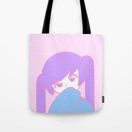 Anime Pastel Girl Tote Bag