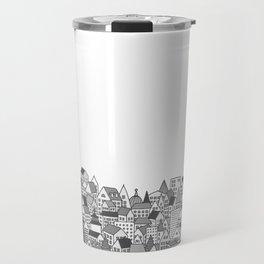 Paris (black and white version) Travel Mug
