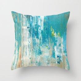 Morning Spray Throw Pillow