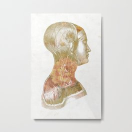 Inside Girl Metal Print