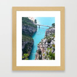 yachting Framed Art Print