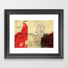 overflow #21 Framed Art Print