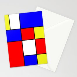 Abstract #414 Stationery Cards