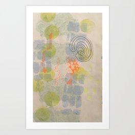 summer (1) sky dreams Art Print