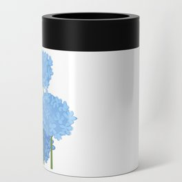 Blue Flowers Can Cooler