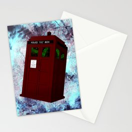View From the Tardis Portal Stationery Cards