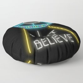I want to believe Floor Pillow