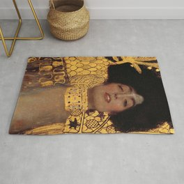 JUDITH AND THE HEAD OF HOLOFERNES - GUSTAV KLIMT Rug