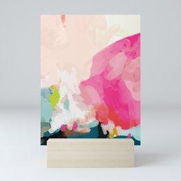 pink sky Mini Art Print