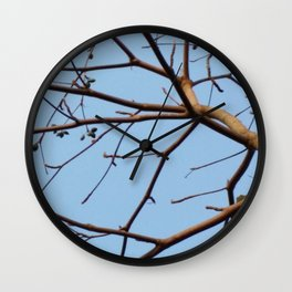 BARE & THERE Wall Clock