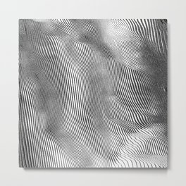 Touch Metal Print