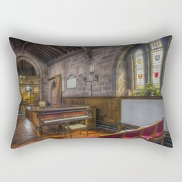 Church Piano Rectangular Pillow