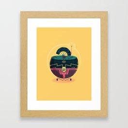 :::Mini Robot-Sfera1::: Framed Art Print