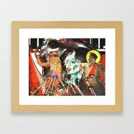 Post Modern Framed Art Print