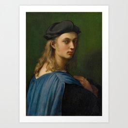 """Raffaello Sanzio da Urbino """"Portrait of Bindo Altoviti"""", c 1514 Art Print"""
